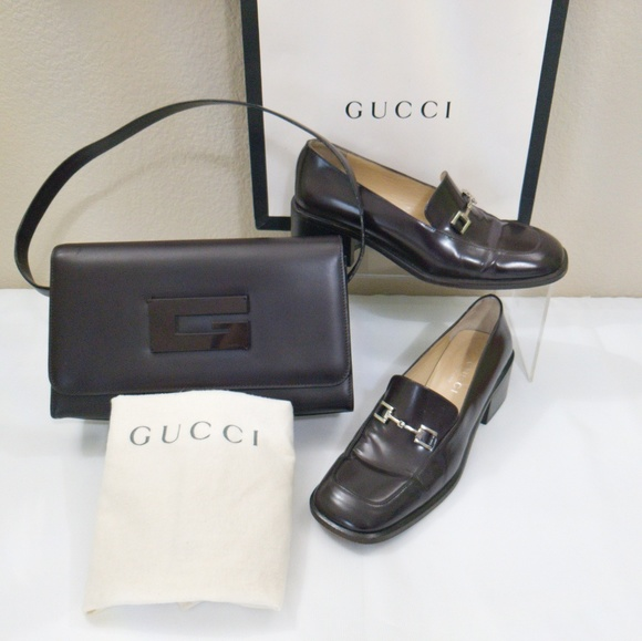 Gucci Shoes - Gucci Loafer Shoes Shoulder Bag Bundle